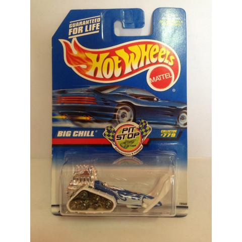 Hot Wheels - Big Chill Branco - Mainline 1998