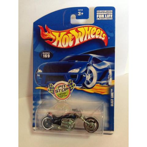 Hot Wheels - Blast Lane Azul - Mainline 2001