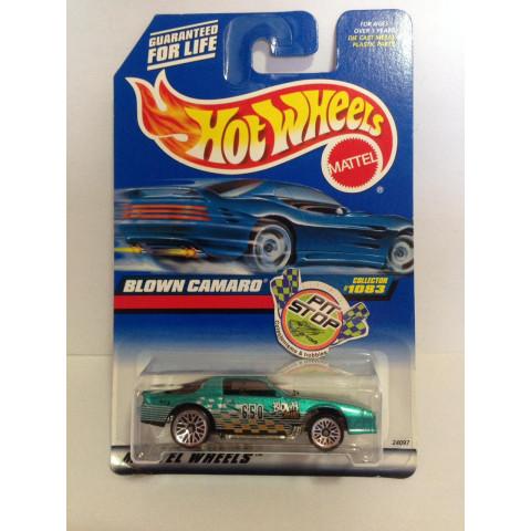 Hot Wheels - Blown Camaro Verde - Mainline 1999