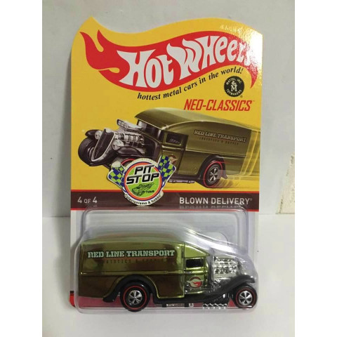 Hot Wheels - Blown Delivery Verde - Neo Classics