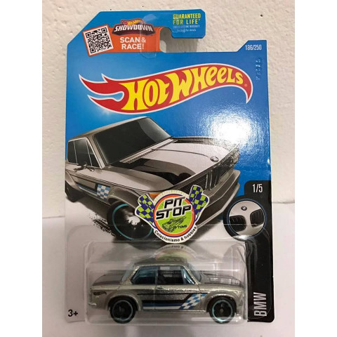 Hot Wheels - Bmw 2002 Prata - Zamac 2016