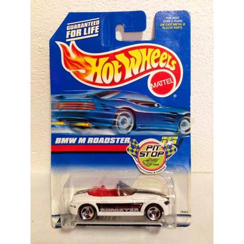 Hot Wheels - BMW M Roadster Branco - Mainline 1998