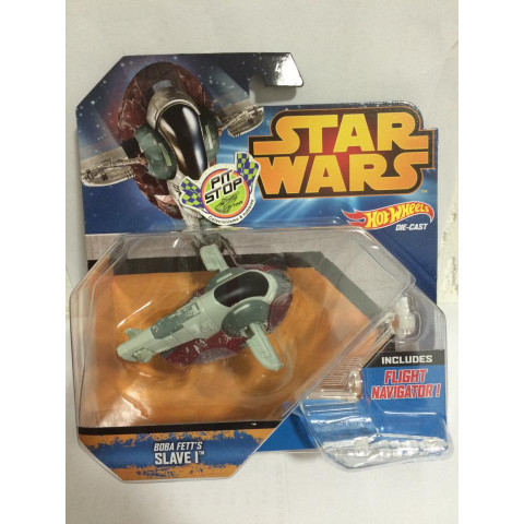 Hot Wheels - Boba Fett's Slave I - Star Wars