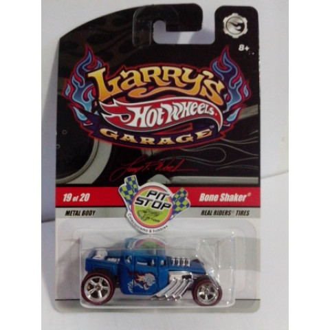Hot Wheels - Bone Shaker Azul - Garage - Chase