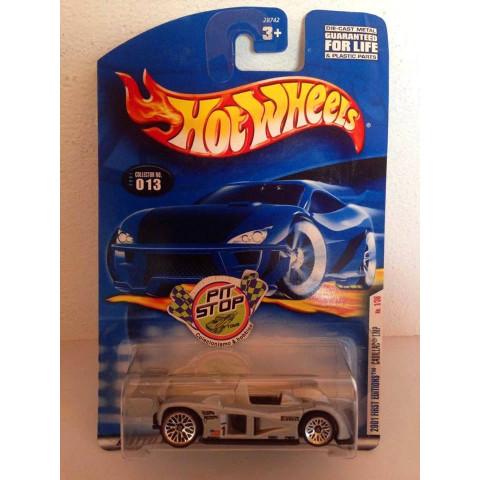 Hot Wheels - Cadillac LMP Cinza - Mainline 2001