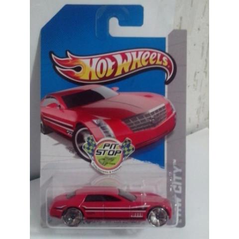 Hot Wheels - Cadillac Sixteen Concept Vermelho - Mainline 2013