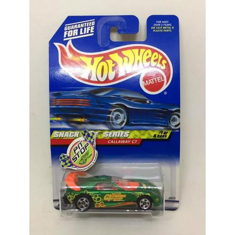 Hot Wheels - Callaway C7 Verde - Mainline 2000