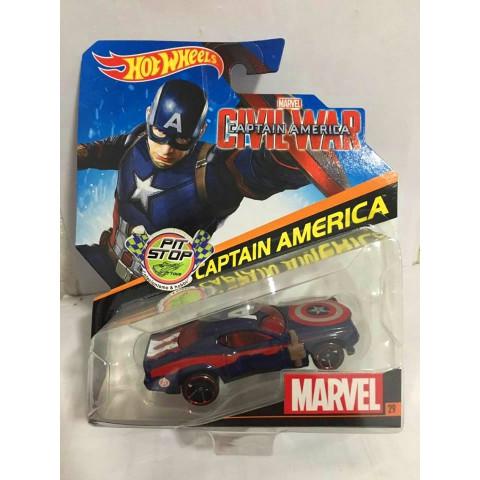 Hot Wheels - Captain America - Civil War - Captain America - Marvel