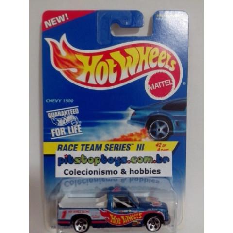 Hot Wheels - Chevy 1500 Azul - Mainline 1997