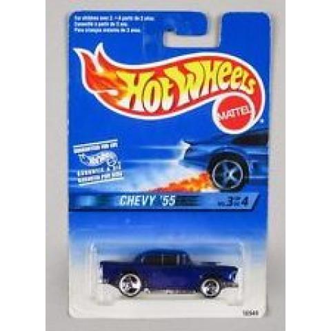 Hot Wheels - Chevy 55 Azul - Mainline 1997