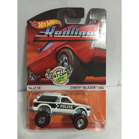 Hot Wheels - Chevy Blazer 4x4 - Heritage - Redline