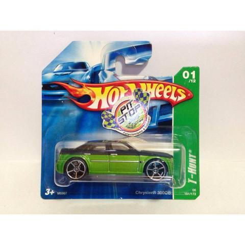 Hot Wheels - Chrysler 300C Verde - Treasure Hunt 2008