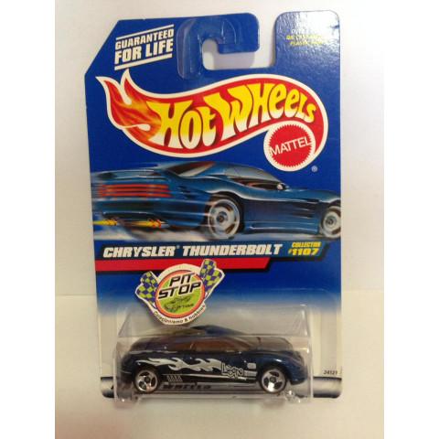 Hot Wheels - Chrysler Thunderbolt Azul - Mainline 1999