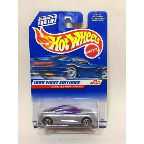 Hot Wheels - Chrysler Thunderbolt Cinza - Mainline 1998