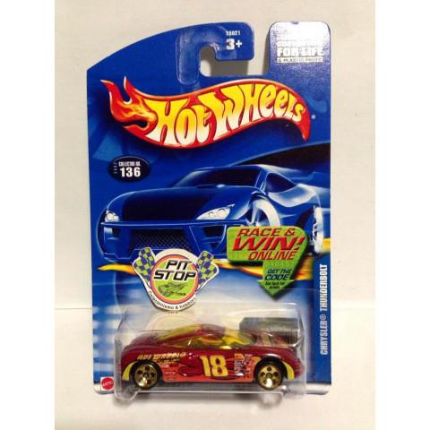 Hot Wheels - Chrysler Thunderbolt Vermelho - Mainline 2002