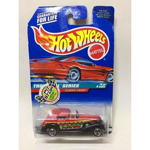 Hot Wheels - Classic Caddy Vermelho - Mainline 1998