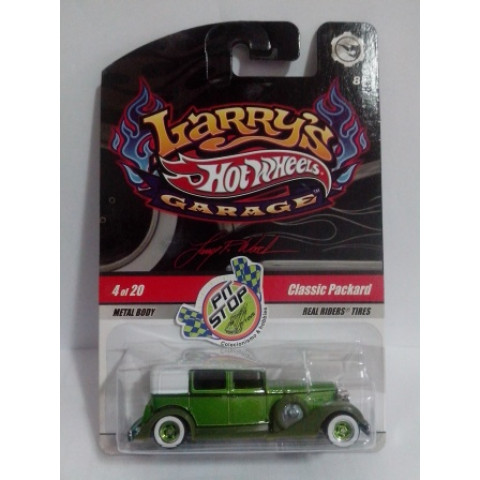 Hot Wheels - Classic Packard Verde - Larry's Garage - Chase