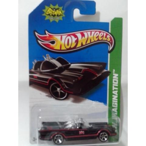 Hot Wheels - Classic TV Series Batmobile Preto - Mainline 2013