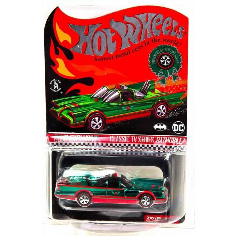 Hot Wheels - Classic TV Series Batmobile - Club Exclusive - Red Line Club