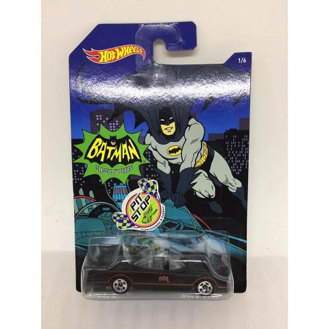 Hot Wheels - Classic TV Series Batmobile Preto - Batman Classic TV