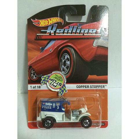 Hot Wheels - Copper Stopper Azul - Heritage - Redline