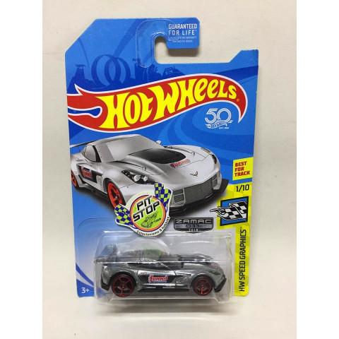 Hot Wheels - Corvette C7.R - Zamac 2018