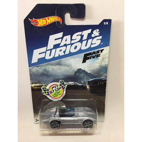 Hot Wheels - Corvette Grand Sport Roadster Cinza - Fast & Furious - Fast Five