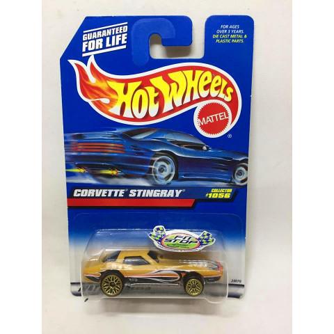 Hot Wheels - Corvette Stingray Dourado - Mainline 1999