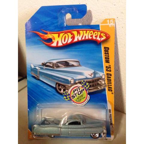 Hot Wheels - Custom 53 Cadillac Azul - Mainline 2009