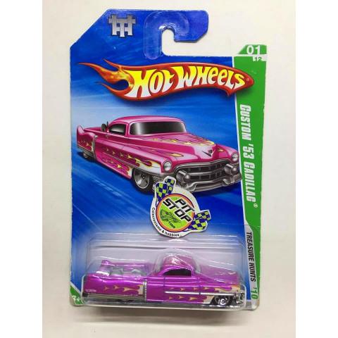 Hot Wheels - Custom 53 Cadillac Rosa - Treasure Hunt 2010