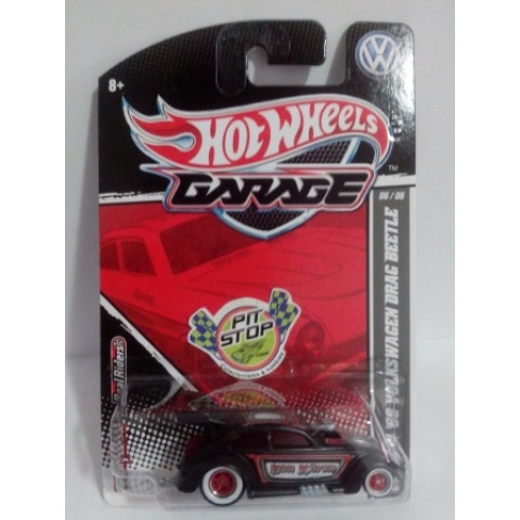 Hot Wheels - Custom 56 Volkswagen Drag Beetle Preto - Garage