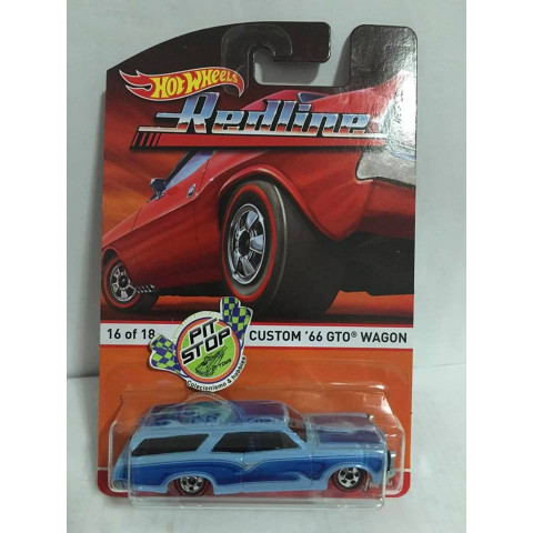 Hot Wheels - Custom 66 GTO Wagon - Heritage - Redline