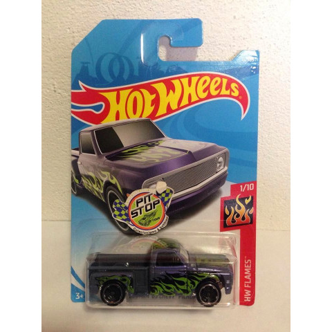 Hot Wheels - Custom 69 Chevy Pickup Roxo - Mainline 2018