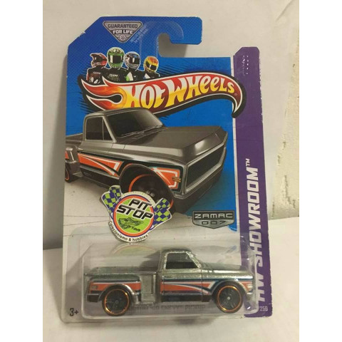 Hot Wheels - Custom 69 Chevy Pickup - Zamac 007