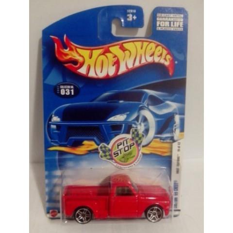 Hot Wheels - Custom 69 Chevy Vermelho - Mainline 2002