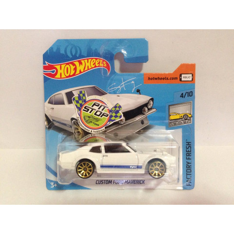Hot Wheels - Custom Ford Maverick Branco - Mainline 2018
