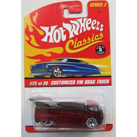 Hot Wheels - Customized VW Drag Truck Vermelho - Série Classics