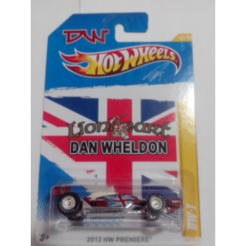 Hot Wheels - Dan Wheldon - DW-1 - 2012