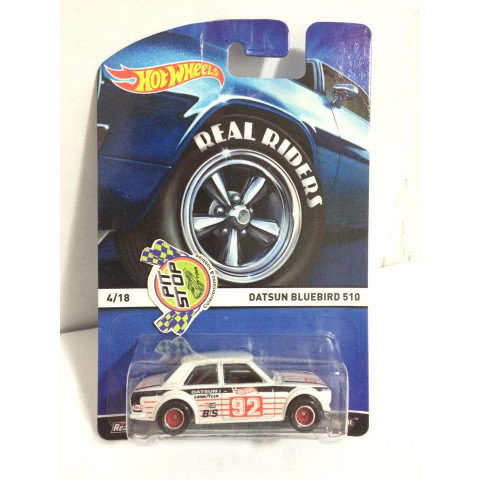 Hot Wheels - Datsun Bluebird 510 - Heritage - Real Riders
