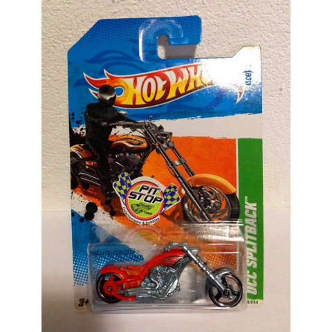 Hot Wheels - Dcc Splitback Laranja - Treasure Hunt 2011