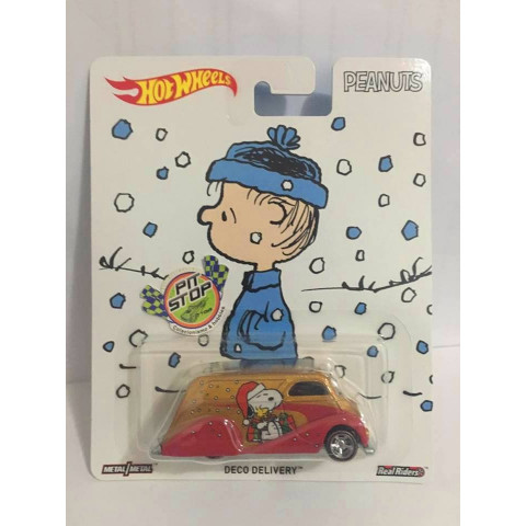 Hot Wheels - Deco Deliver - Snoopy - Peanuts