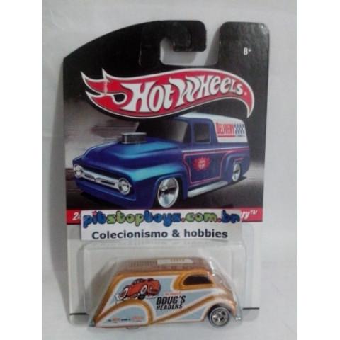 Hot Wheels - Deco Delivery Dourado - Série Delivery