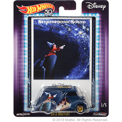 Hot Wheels - Deco Delivery - Fantasia - Stereophonic Sound - Disney