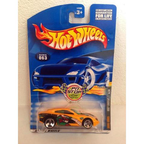 Hot Wheels - Dodge Charger R/T Amarelo - Mainline 2001