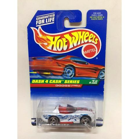 Hot Wheels - Dodge Viper RT/10 Branco - Mainline 1998