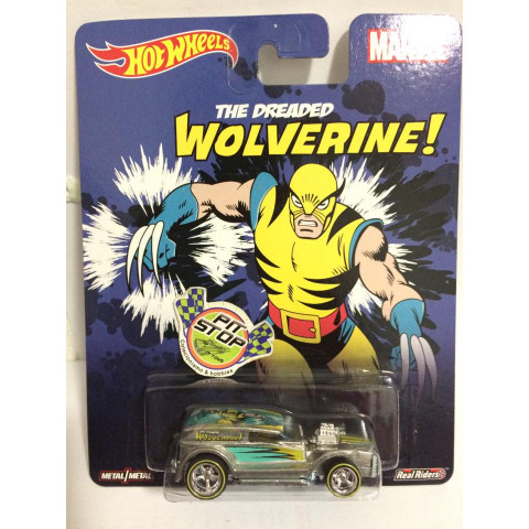 Hot Wheels - Double Demon Delivery - Pop Culture - Wolverine
