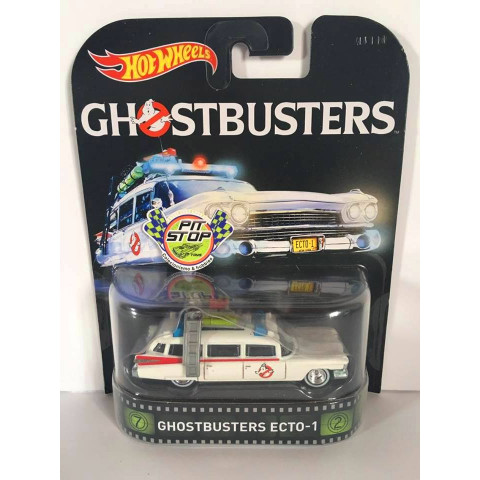 Hot Wheels - Ecto-1 Ghostbusters - Retro 2016
