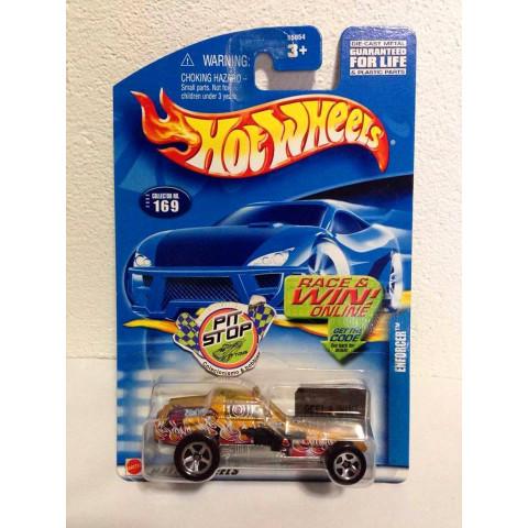 Hot Wheels - Enforcer Dourado -  Mainline 2002