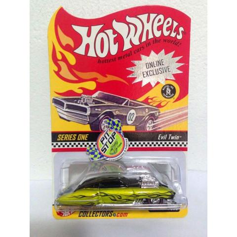 Hot Wheels - Evil Twin Verde - Online Exclusive - Hot Wheels Collectors