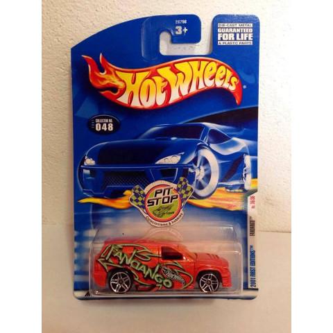 Hot Wheels - Fandango Laranja - Mainline 2001